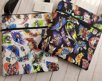 Choose Your Weapon Art Supplies Retro Shoulder Bag