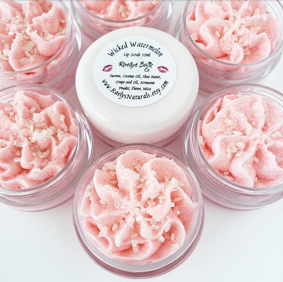 Sugar Scrub for Lips Wicked Watermelon Sugar Lip Scrub | Etsy