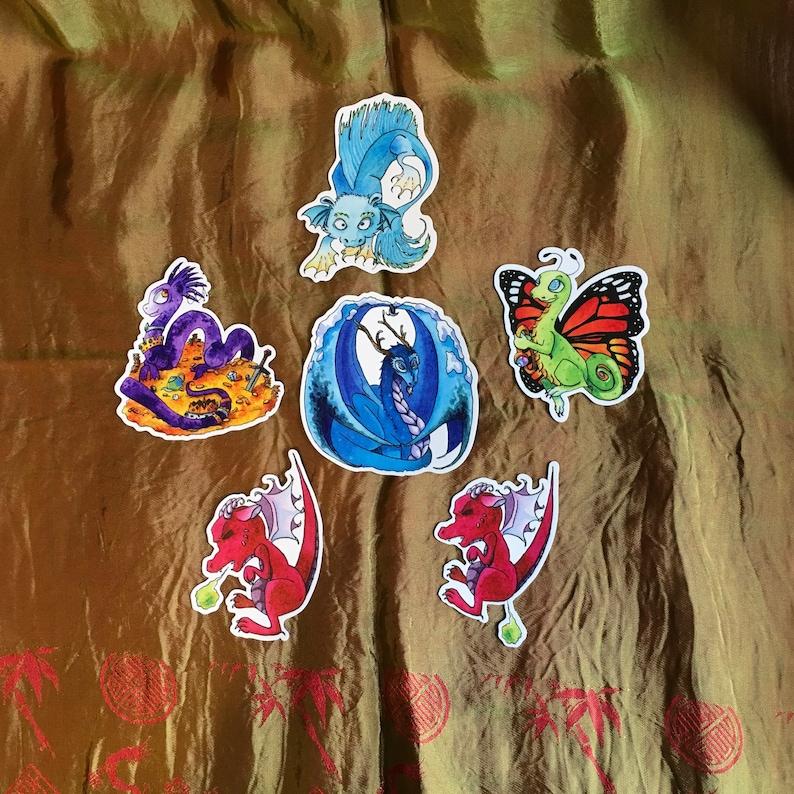 Dragon Magnet Ice Dragon Fairy Dragon Water Dragon Magical Creature Fantays