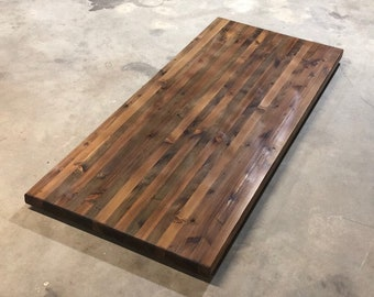 Reclaimed Wood Table Top Etsy - Refurbished wood table tops