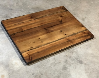 Reclaimed Wood Table Top Etsy - Prefab wood table tops