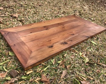 Beau Rustic Reclaimed WOOD Table Top Desk Top Bar Restaurant Farmhouse Urban  Rustic Shabby Chic Custom