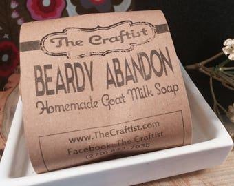 Beardy Abandon Shaving Soap