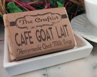 Cafe Goat Lait Goat Milk Soap