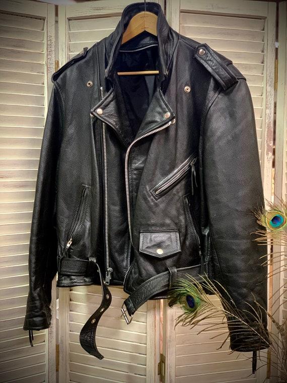 Great Black Leather Motorcycle Jacket Harley David