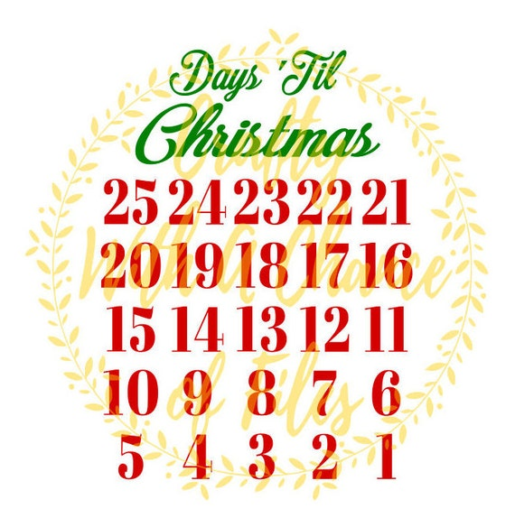 image 0 - How Many Days Are There Until Christmas