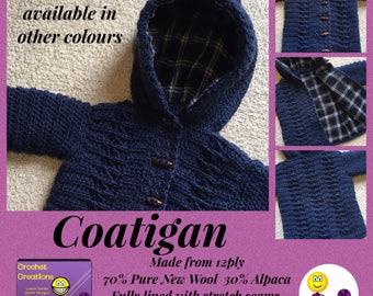 COATIGAN (Coat x cardigan x jacket x hoody)