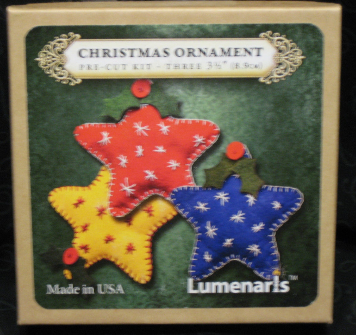 Christmas Kit - Lumenaris Old-Fashioned Christmas Stars (3 per box ...