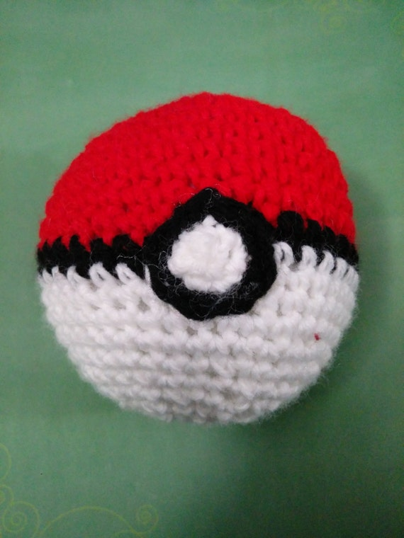 Crochet Pokeball Pattern Etsy