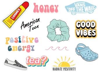 graphic regarding Vsco Printable Stickers named Vsco stickers Etsy