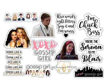 Gossip Girl Stickers Etsy