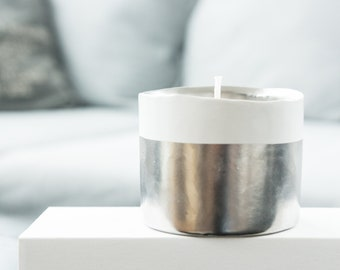 Hand Poured Soy Candle Scented with Essential Oils Spark Candles Bliss Lavender + Ylang Ylang + Bergamot + Clementine