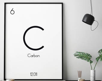periodic table etsy - Periodic Table Of Elements Gifts
