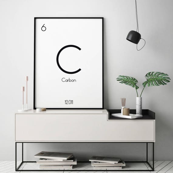 periodic table wall art chemistry gift chemistry decor etsy. Black Bedroom Furniture Sets. Home Design Ideas