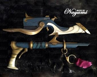 League of Legends - Jhin Guns and belt