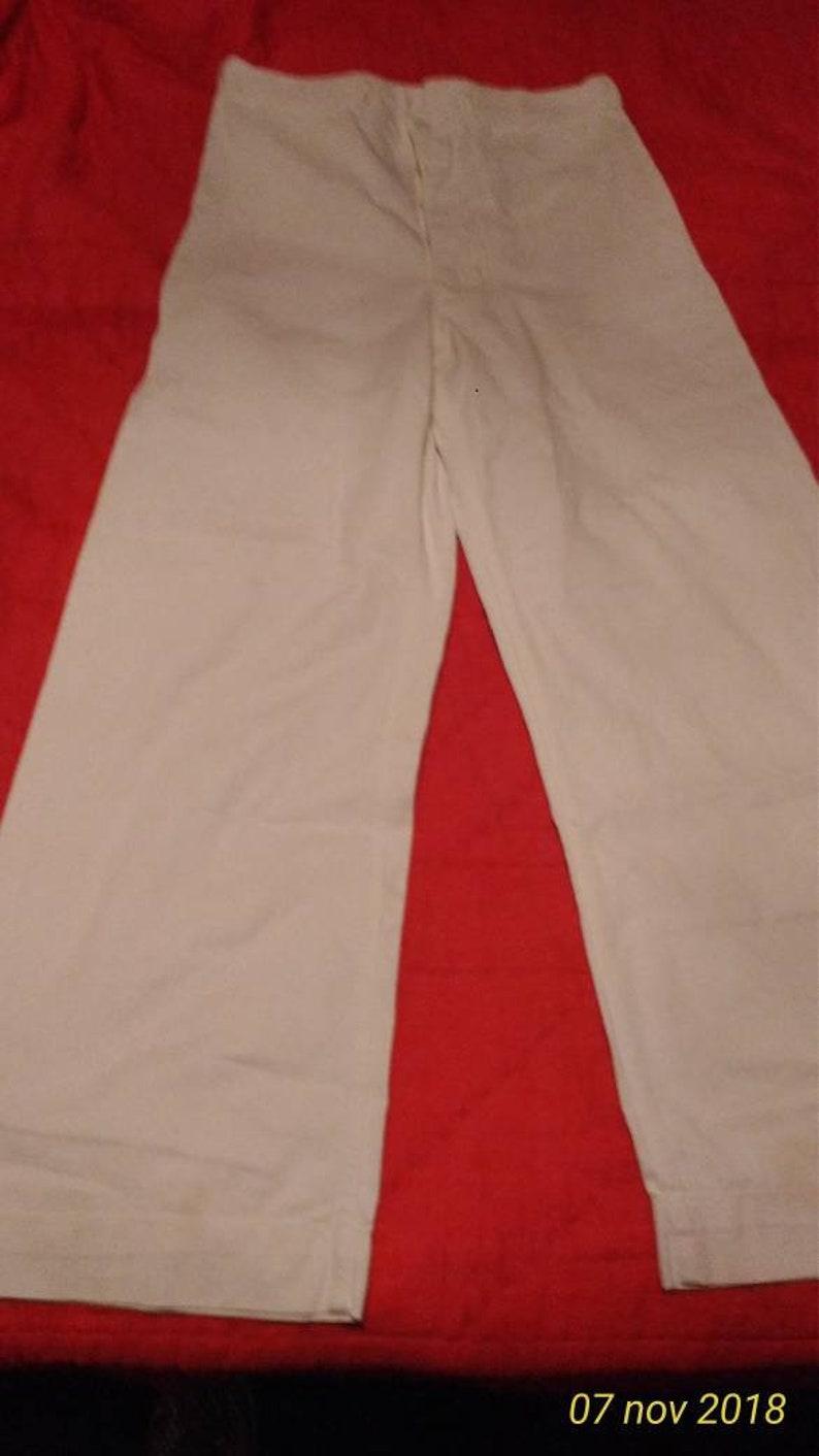 best website 69d00 10062 USM pantaloni marina militare americana, originali anni '70