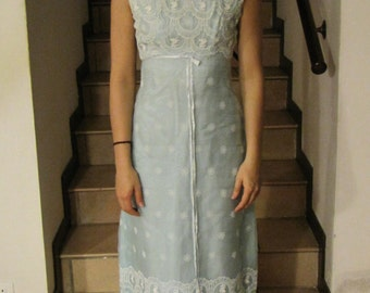 Evening dress, cocktail party years ' 60/' 70