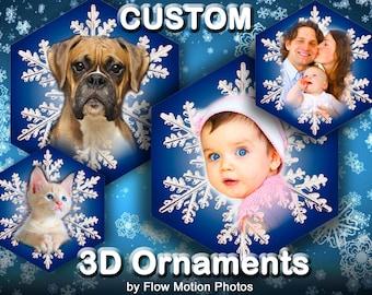 3D Photo Ornament