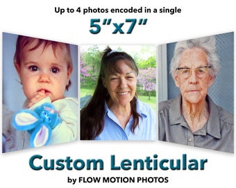 "5""x7"" Custom Lenticular"
