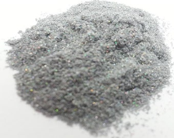 Micro Fine .002 Stardust Silver Holographic Dust - Solvent Resistant