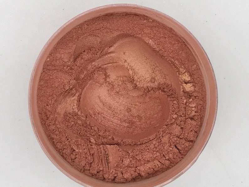 Golden Pink Peach Mica Pigment-Safe for Face and Body image 0