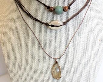 3 Piece Layered Necklace Set