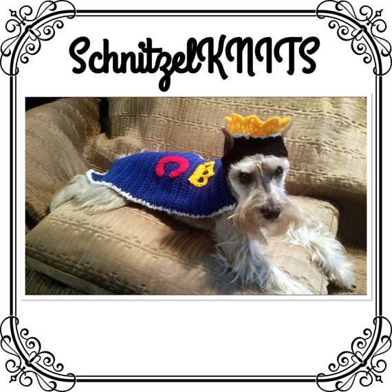 Christmas thanksgiving Prince Charming fancy dress outfit for small dog .cute fancy-dress hat and cape for dachshund Halloween