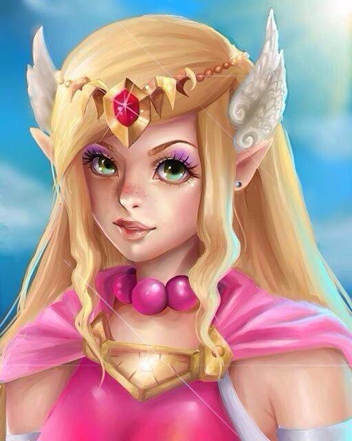 Affiche de la princesse zelda etsy - La princesse zelda ...