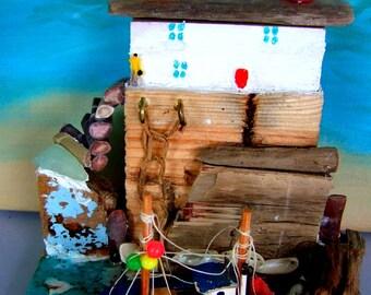 Driftwood Harbour Scene