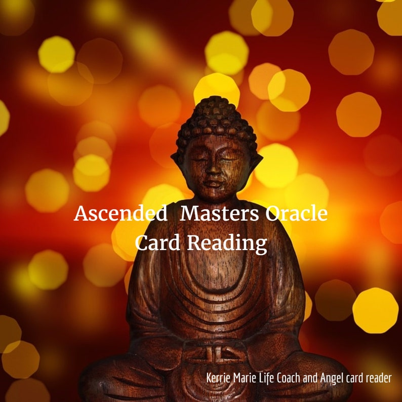 Ascended Master Oracle Card Reading
