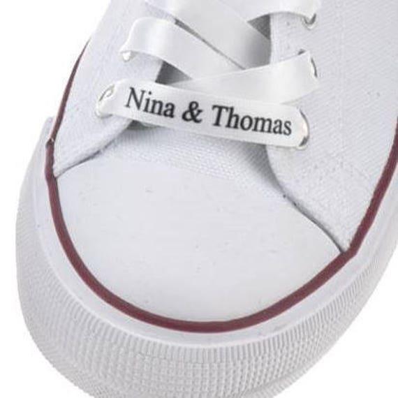 Personalised shoe laces   Etsy