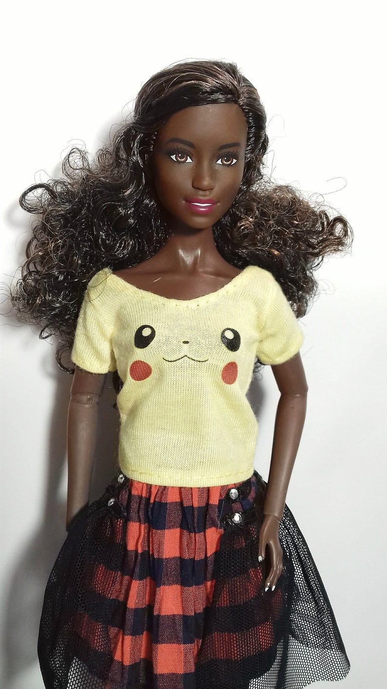 Handstiched graphic tank top for Integrity Toys dolls