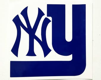 New York Giants / Yankees  Combination / Yeti decal / car decal / phone decal / laptop decal