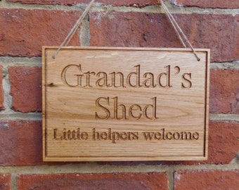 PERSONALISED SIGN, Engraved Wood Sign, Garden Sign, Door Sign, Shed Sign, Custom Sign, Personalised Gift, Hotel B&B Room Name, New Home Gift
