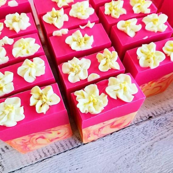 Citrus Blossom Silk Soap / Handmade Soap/ Cold Processed Soap