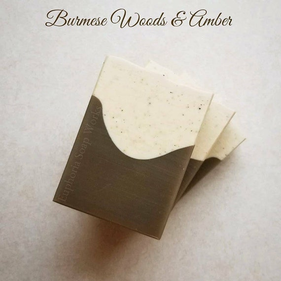 ON SALE Burmese Woods Silk Soap
