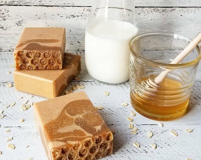 Oatmeal Milk & Honey Silk Soap