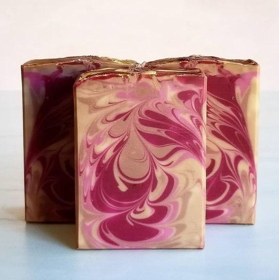 Sugared Plum & Amber Silk Soap
