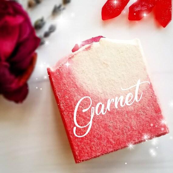 Garnet Birthstone Collection (Capricorn) Salt Bar