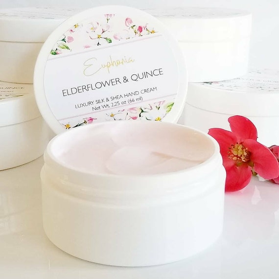 Elderflower + Quince Silk & Shea Hand Cream