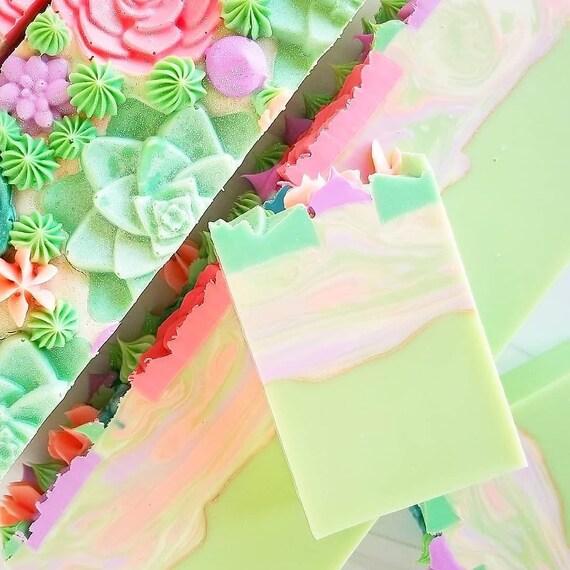 Lush Succulent Silk Soap