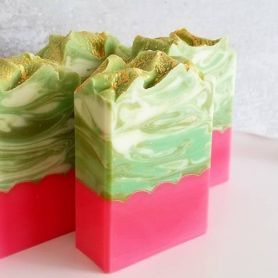 Pear Glace Artisan Soap / Handmade Soap / Silk Soap