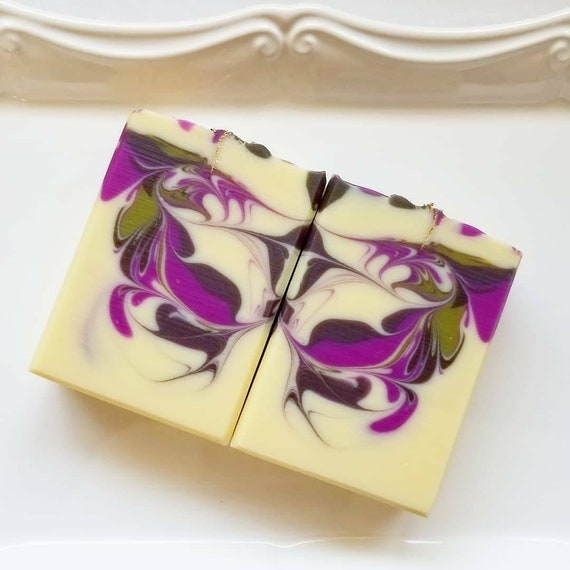 Autumn Fig Harvest Silk Soap / Handmade Soap / Cold Process Soap