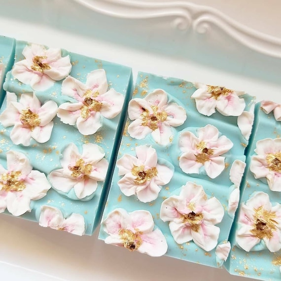 ON SALE Citrus Blossoms Silk Soap