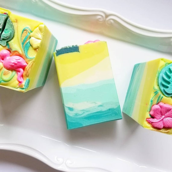 Jungle Lily Silk Soap / Handmade Soap/ Cold Processed Soap