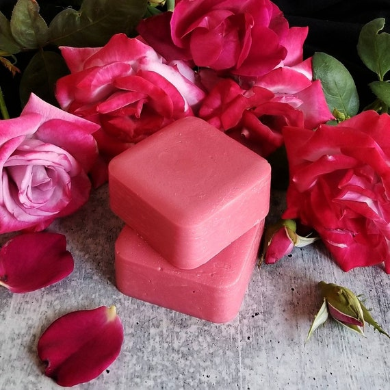 Wild Rose Jam Shampoo and Conditioner Bars