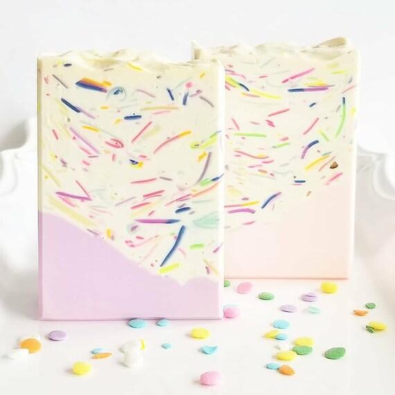 Unicorn Party Silk Soap / Handmade Soap / Cold Process Soap