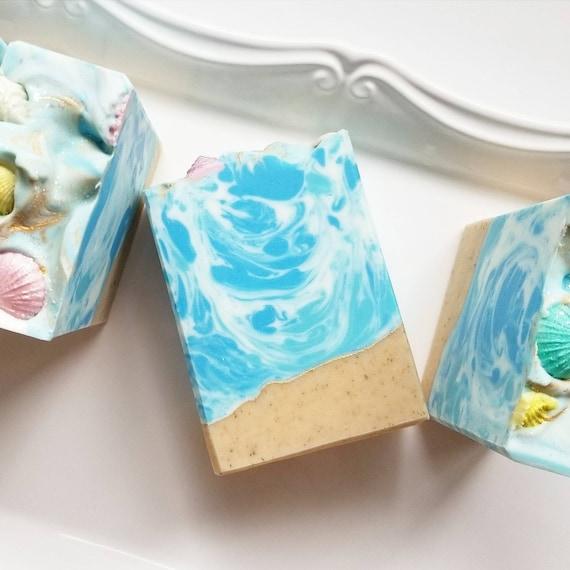 Island Cabana Silk Soap / Handmade Soap / Cold Process Soap