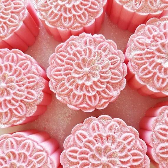 Fairy Floss Moon Cake Bath Bombs