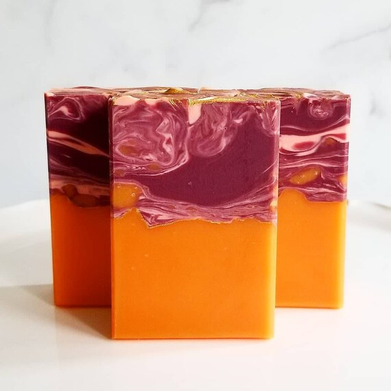 Pomegranate Orange Currant Silk Bar